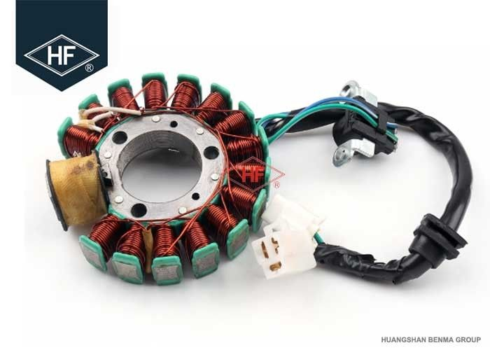Magneto Copper Wire Stator Coil Motorcycle , Aftermarket Motorcycle Stator  For Yamaha YP125