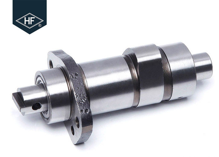 Chromed Aftermarket Motorcycle Parts , Forged Steel Crankshaft GN125 Motorcycle Front Parts