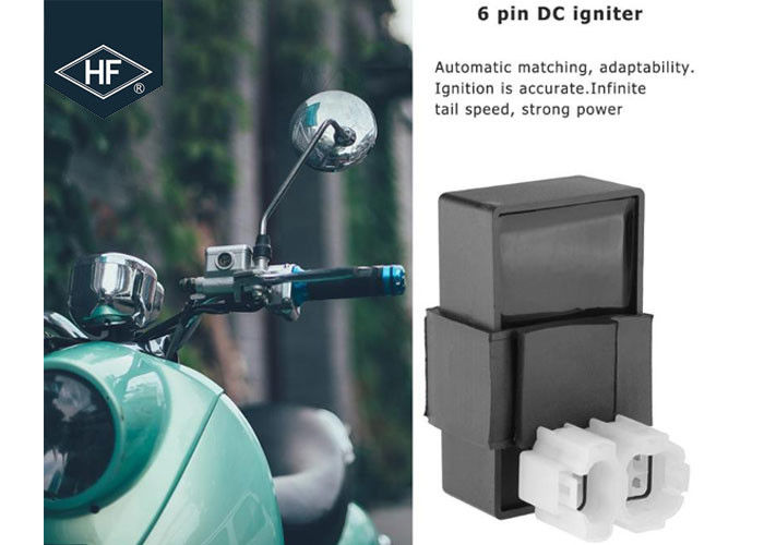 Scooter Ignition Other Motorcycle Parts 6 Pins CDI Box For 125cc 150cc ATV Go Kart