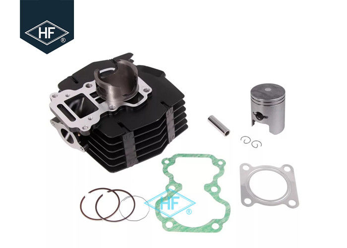 2 Stroke Single Motorcycle Cylinder Kit With Piston Set Gasket Black Iron Material